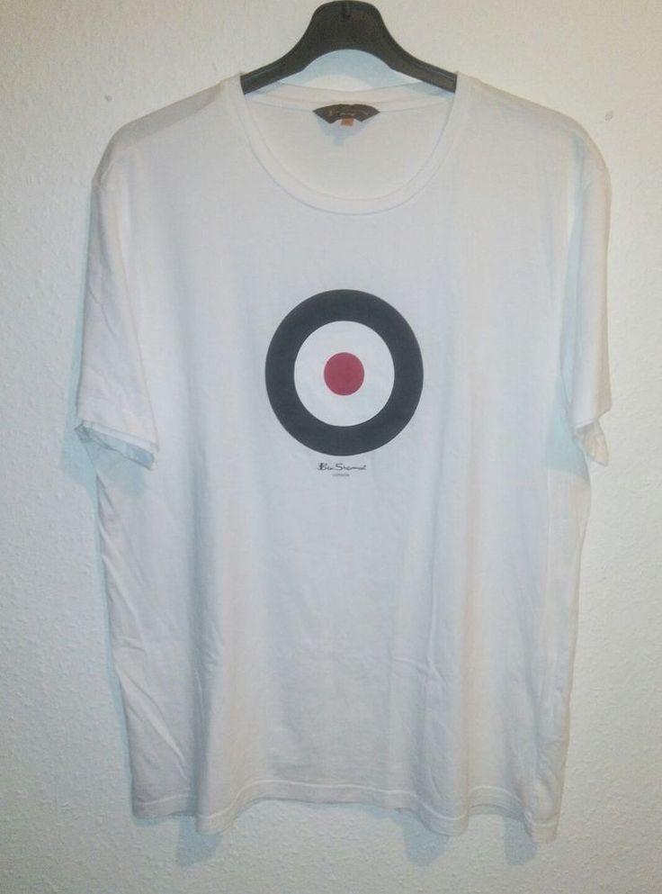 Ben Sherman Target T Shirt White Size 4XL