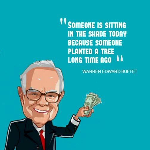 """A Quote from Warren Buffet, whom wikipedia defines as """"THE MOST SUCCESSFUL INVESTOR IN THE WORLD"""", the rule holds true while planning your insurance too.Start Early and stay smart"""