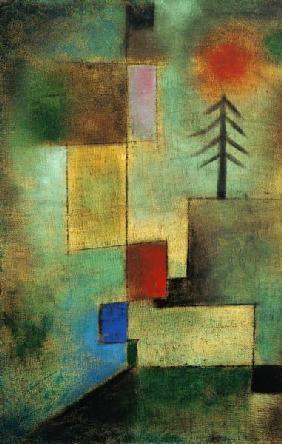 Paul Klee - Kleines Tannenbild.