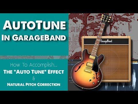 AutoTune In GarageBand! (& Natural Pitch Correction