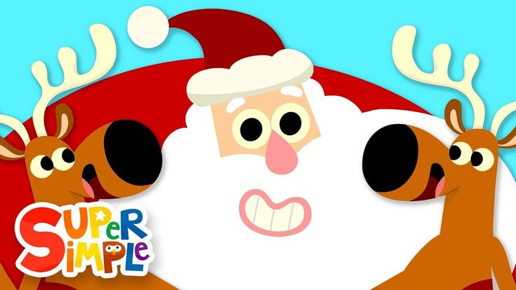 Sing and dance to this super fun Christmas song for kids from Super Simple Songs, Up On The Housetop! Ho, ho, ho!