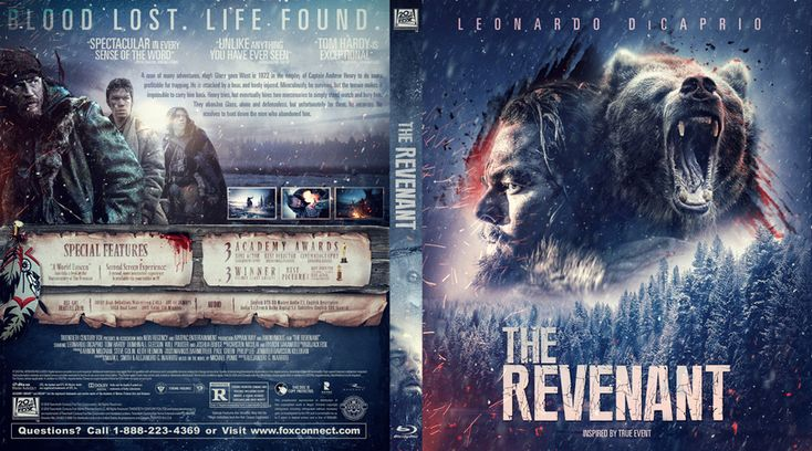 The Revenant Blu-ray Cover
