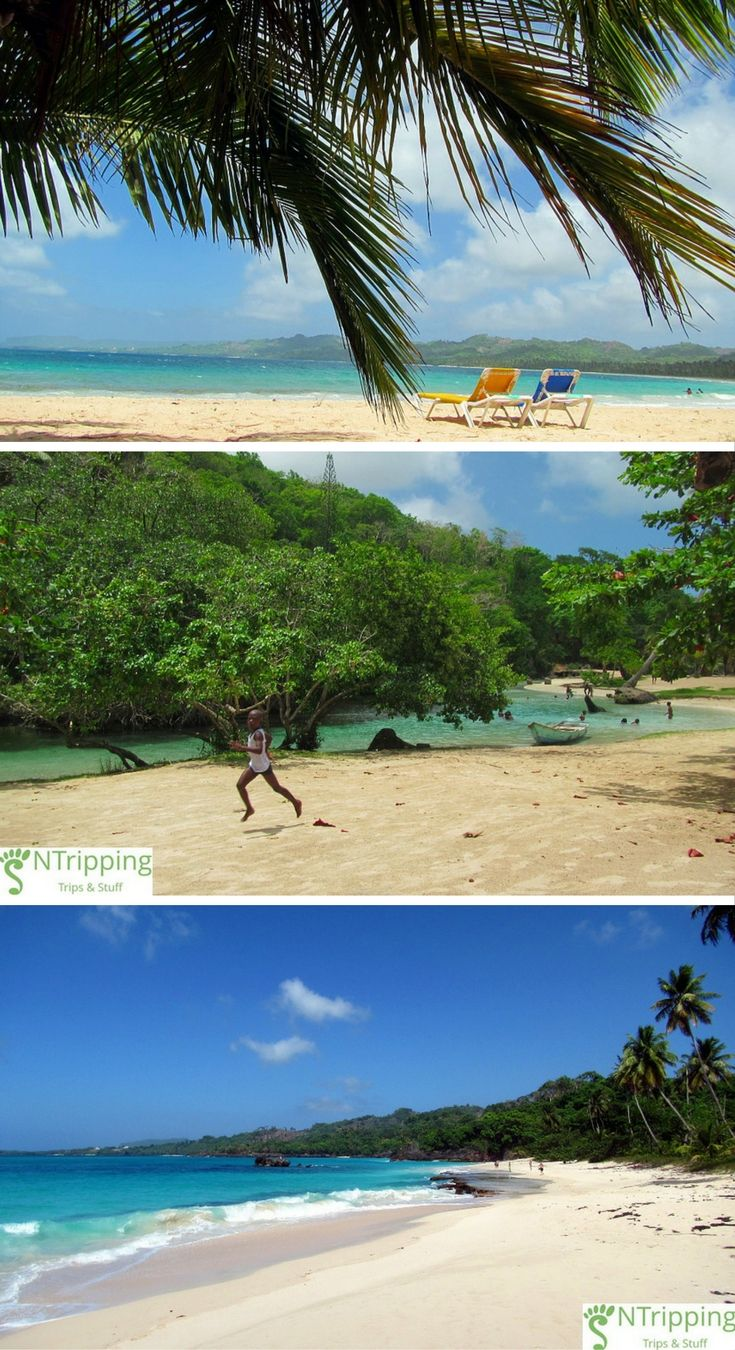 Playa Rincon - one of the most beautiful and secluded beaches in The Dominican Republic