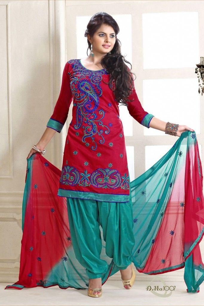 Punjabi salwar kameez designs punjabi patiala salwar for Indian punjabi kothi designs