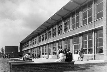 College House School, Cator Lane, Chilwell School, c 1950