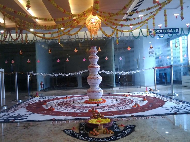 Find Out How To Keep Your Diwali Celebration And Decoration Enthusiasm In Office.