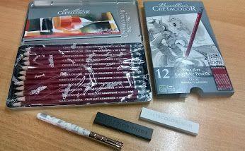Buongiorno #offertadelgiorno    Set 12 matite in grafite CRETACOLOR € 11