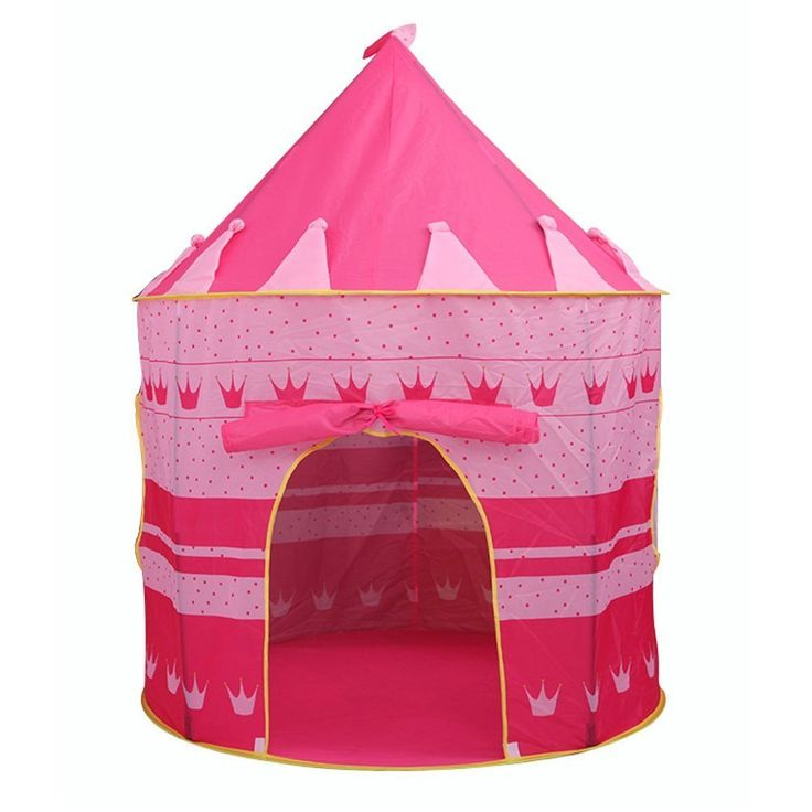BlueSnail Children Play Tent Pop Up Princess Castle Playhouse for Boys, Girls, Toddlers Indoor Outdoor Use Castle ,Conveniently Folds in to a Carrying Case (Pink). This beautiful Pop-Up Princess Castle Play Tent is easy to set up and take down and is great for indoor or outdoor use. Your child will have hours of fun with this colorful play tent decorated with hearts and glow-in-the-dark-stars! Pop it up in the backyard, and she's got a magical cave, a fort to be guarded or a secret hiding...