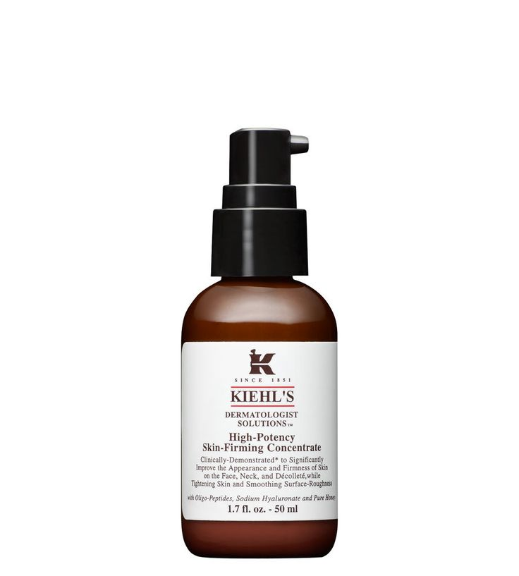 High-Potency Skin-Firming Concentrate  This powerful skin-firming concentrate is formulated with a potent blend of ingredients to significantly improve the appearance and firmness of skin on the face, neck, and décolleté.