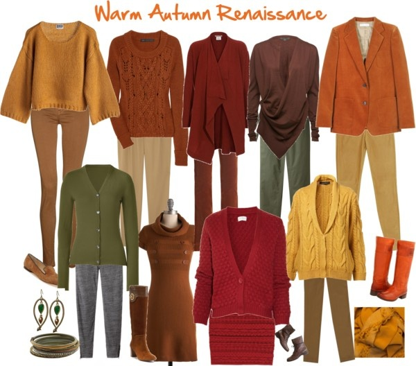 """Warm Autumn Renaissance"" by jeaninebyers on Polyvore"