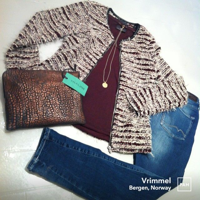 Outfit with FW13 news @ Vrimmel. #newin #outfit #maisonscotch and #norwegianbrand #calajade #fw13 #aw13 #womensfashion #vrimmel #womenswear #hybridshopping #bergen #norway