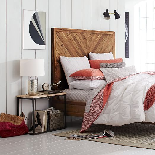 LOVE THIS BED. Alexa Reclaimed Wood Bed From West Elm.and I Have A Off  Designer Discount.