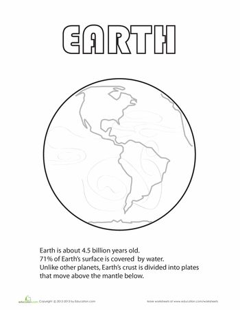 earth coloring page c2 w9