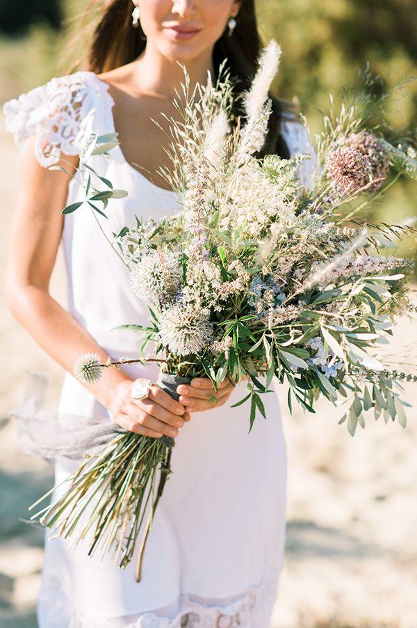 Dusty blue wedding inspirational shoot - Love4Weddings