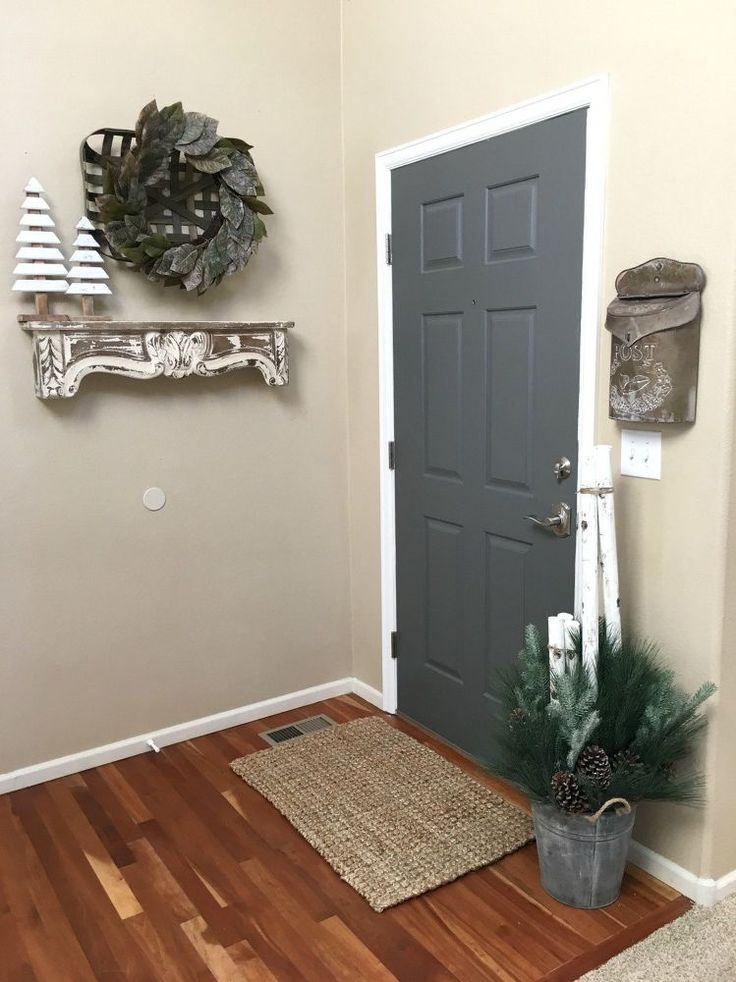 Painting the Inside of Your Front Door
