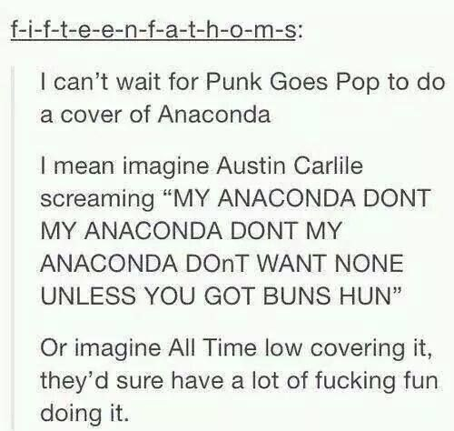 If All Time Low covers it you know that Jack is going to make them shoot a music video because he's Jack