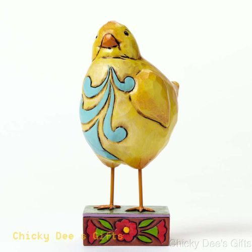 Jim Shore Heartwood Creek Pint Sized Lazy Chick 4047078 NEW