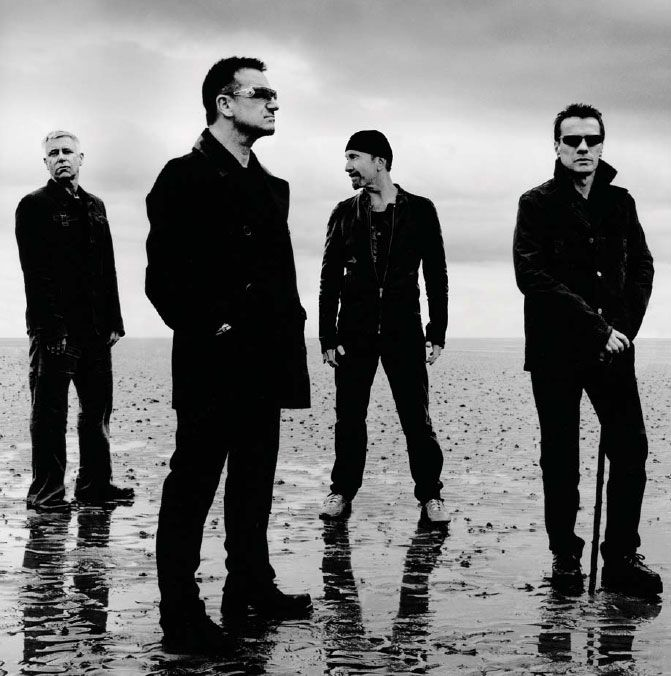 U2 - how could you reference Irish Music without talking about U2? Bono lived down the road from me in Bray growing up - local boy done good!!
