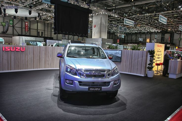 DMax Space Solar Plus: new designs and interiors showcased the the Geneva International Motor Show #isuzu #GIMS #GVAMotorshow