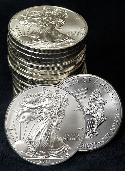 American Eagle Silver Dollars: Invest in silver eagles with our coin of the month program and make 590 and 1000 dollar checks referring others to invest in coins also! Join us at www.7kmetals.com/cfemmons