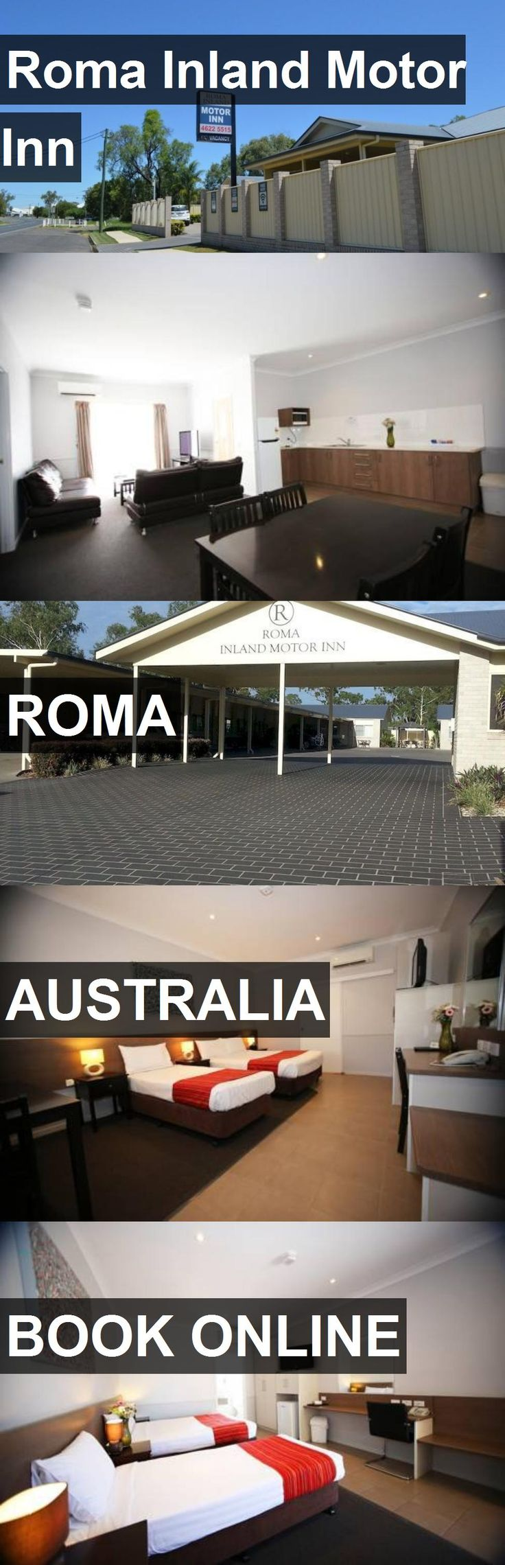 Hotel Roma Inland Motor Inn in Roma, Australia. For more information, photos, reviews and best prices please follow the link. #Australia #Roma #travel #vacation #hotel