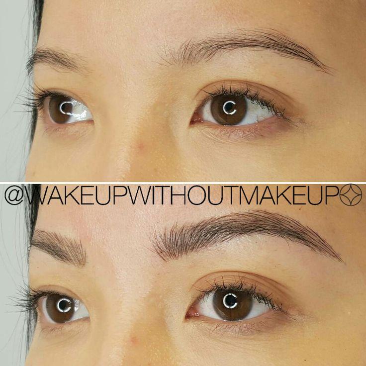 1000+ Ideas About Permanent Eyebrow Tattoo On Pinterest