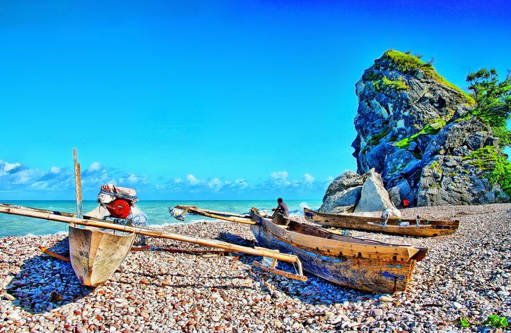 Travel blog: Pantai Kolbano, Pantai Kerikil Halus Di Kupang