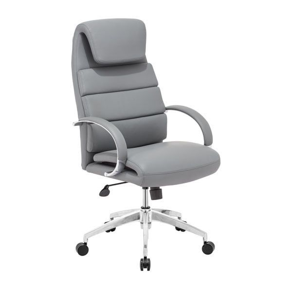 zuo lider comfort office chair gray - Office Desk Chairs