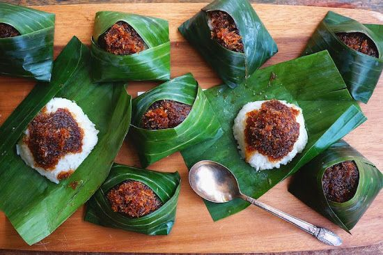 Seasaltwithfood: Pulut Inti-Glutinous Rice With Sweet Coconut