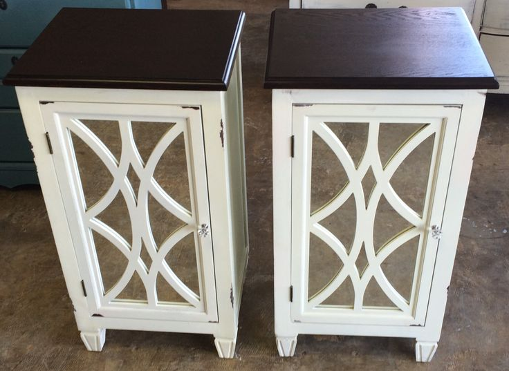 Here is a couple of extra tall nightstands. They are super popular with the  new