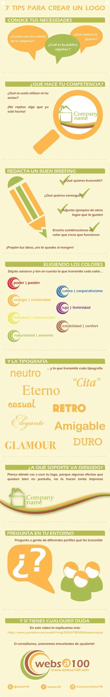 Ya tienes en mente tu proyecto profesional.  ¿Has pensado en un logo? ¡Mira estos sencillos consejos!.  Vía: http://www.essaulsanchez.com/tips-infografia-video-creacion-logo/