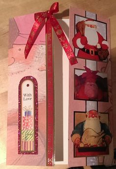 father christmas card crafters companion - Google Search