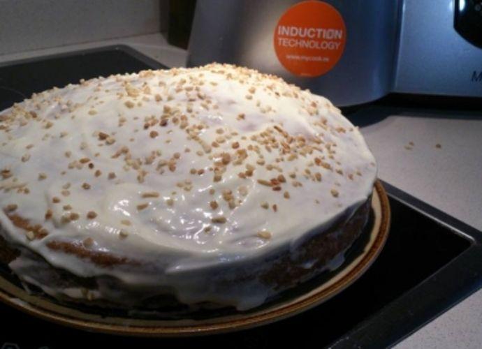 Tarta Zanahoria para #Mycook http://www.mycook.es/receta/tarta-zanahoria