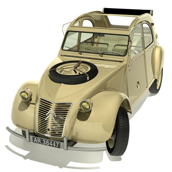 Citroen 2CV Sahara 4x4... by DC888 • citroen 2CV club