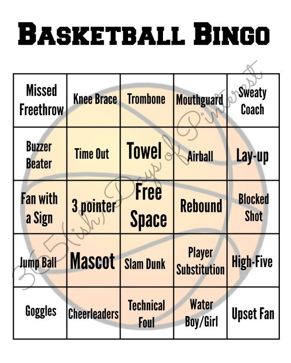 Play a fun game of bingo while watching the basketball game on TV! Kids love to participate, too! Click through for a watermark-free PDF.  #FinalFourPack #ad