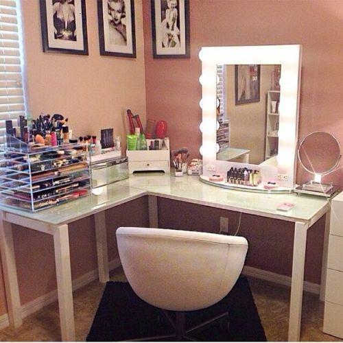 hacer tocador maquillaje