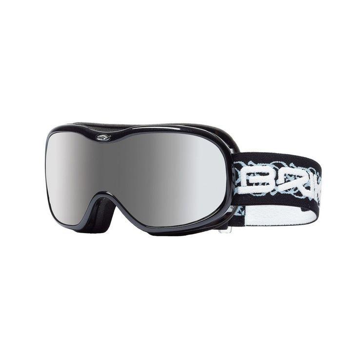 BRIKO Maschera sci discesa snowboard unisex HELIUM nero glitter 015638: Amazon.it: Sport e tempo libero