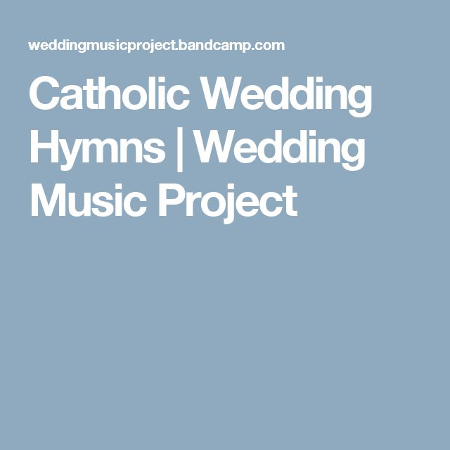 Worship hymns for wedding
