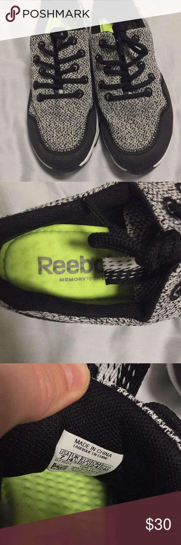 Reebok Memory Foam Knit Gym Shoe Size 7 Worn twice Amazing condition Shoes Sneakers