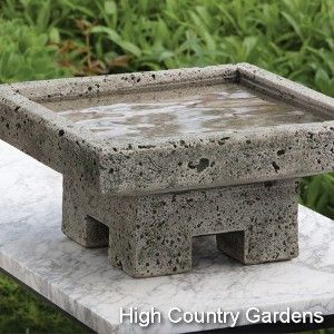 Kosei Stone Bird Bath - love!