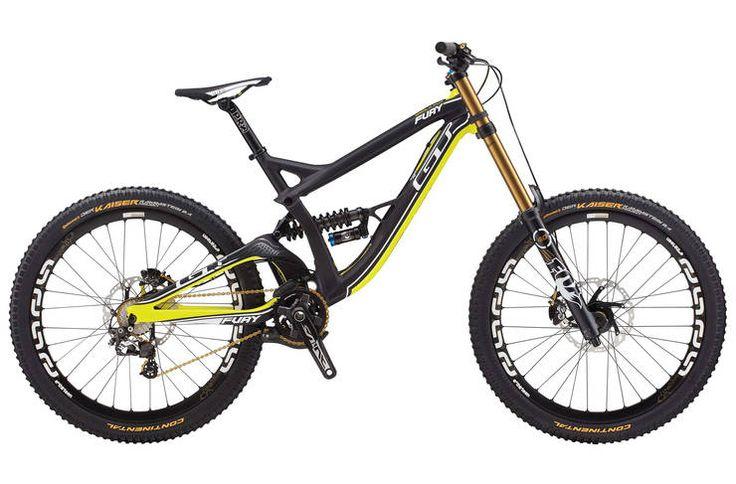 GT Fury World Cup 2014 Downhill Mountain Bike   Evans Cycles Please follow us @ https://www.pinterest.com/wocycling/