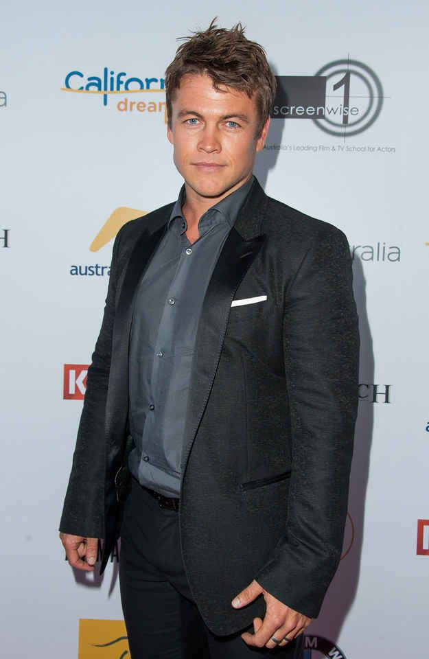 This is Luke Hemsworth.