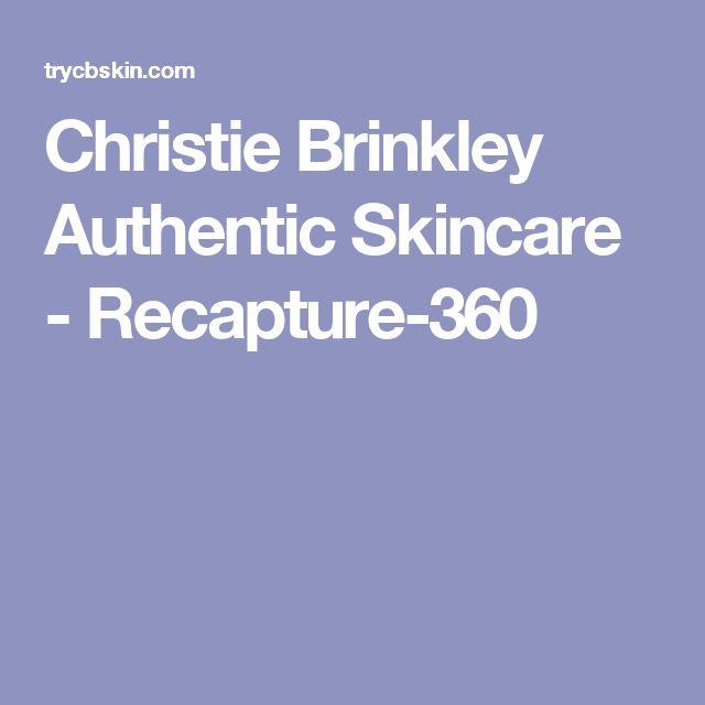 Christie Brinkley Authentic Skincare - Recapture-360