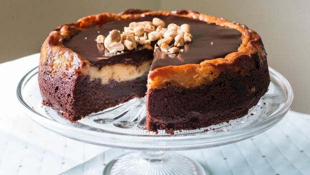 Recipes: Double peanut brownie cheesecake, stir-fried pork & peanuts, and peanut sauce | Stuff.co.nz