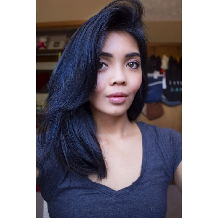 Photo: Dark Blue Hair Color Dye Best Black Hair Dye With Blue Tint Hair Colour Your Reference - Hairstyle Picture Magz