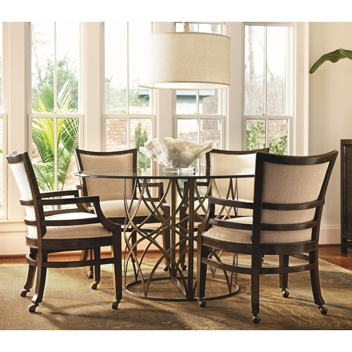 chairs by universal baer 39 s furniture dining 5 piece set miami ft