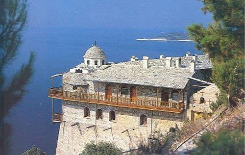 Archangelos Monastery Thassos island