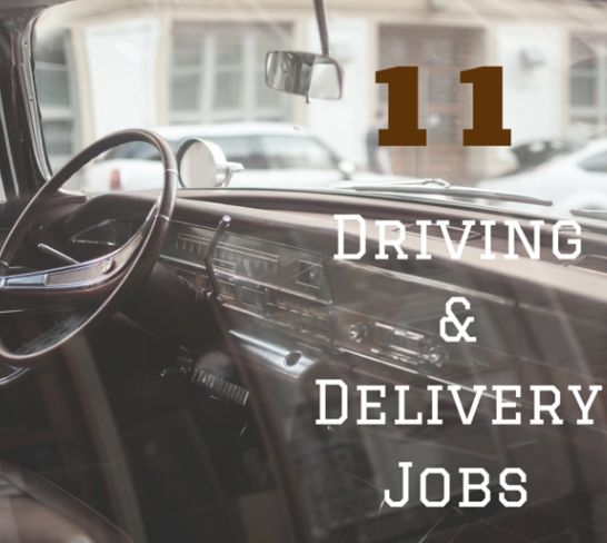 Do you want to get paid to drive and run errands in your local community?   Here's 11 scam free driving and delivery jobs!