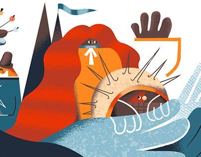 """Check out new work on my @Behance portfolio: """"""""PRZYPADKI PANTAREJA"""" - Leporello book"""" http://be.net/gallery/54387715/PRZYPADKI-PANTAREJA-Leporello-book"""
