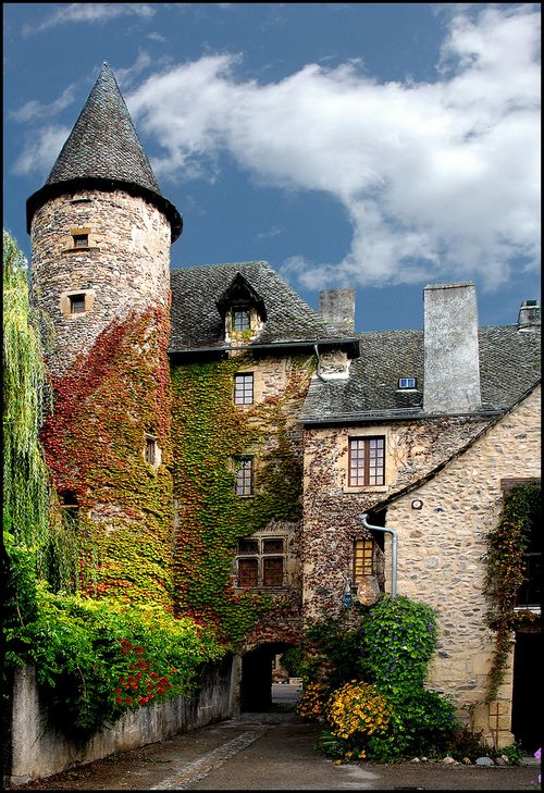 Ste Eulalie-d'Olt ~ Aveyron in southern France.